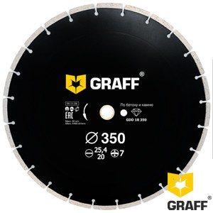 GRAFF diamond blade for concrete and stone 350 mm