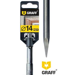 GRAFF SDS plus point chisel 14×250 mm