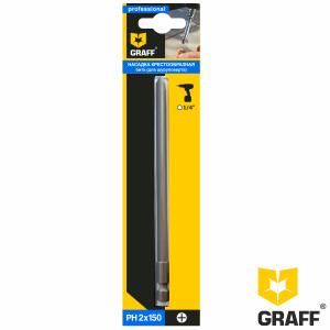 GRAFF long screwdriver bit PH2x150 mm