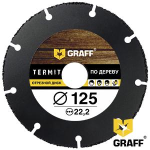GRAFF Termit 125 mm angle grinder blade for wood