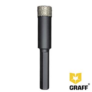 GRAFF diamond drill bit 14mm for ceramic granite and tile