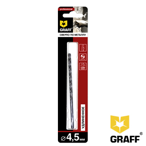 GRAFF drill bit for stainless steel 4.5 mm