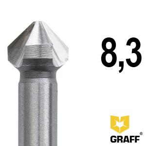 GRAFF countersink bit for metal 8,3 mm