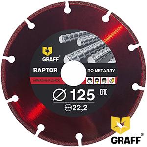 GRAFF raptor for metal
